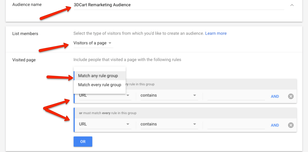 How to Create an Audience For a Remarketing Campaign