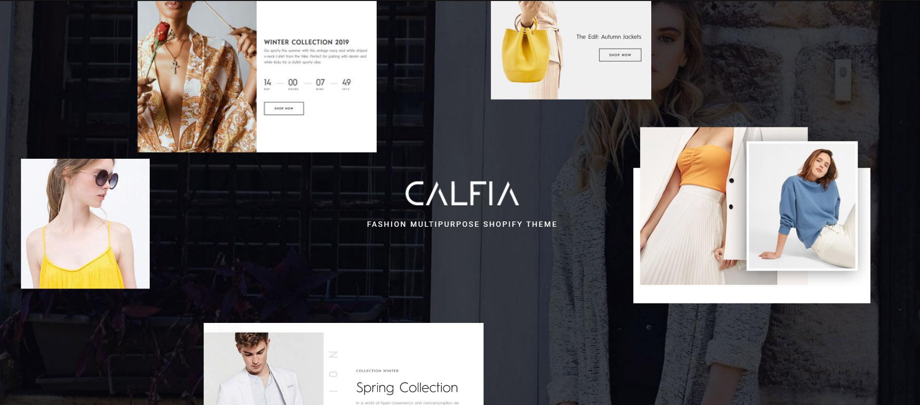 Shopify Calfia Theme
